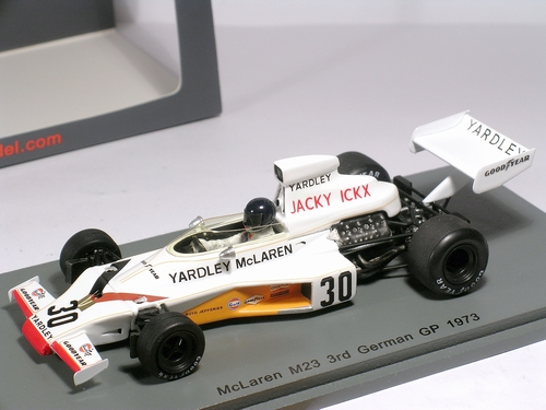 BRM P167 #38  Elford Hockenheim Interserie 1971 - Spark 1/43